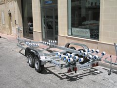 23ft to 26ft BOAT & RIB TRAILER C8