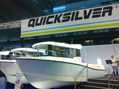 22ft QUICKSILVER 675 PILOT HOUSE