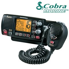 COBRA FIXED-MOUNT MARINE VHF RADIO F80B