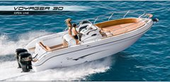30ft RANIERI VOYAGER 30 Center Console Powered by MERCURY