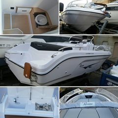 23ft RANIERI VOYAGER 23S Center Console Powered by MERCURY