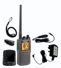 COBRA FLOATING HANDHELD MARINE VHF RADIO HH325