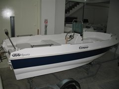 13ft6 Compass 400 + C Console: Max 20Hp 4 Adults
