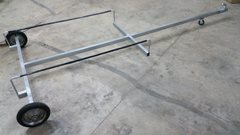 8ft to 10ft BOAT & RIB Galvanised Trolley launcher