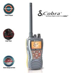 COBRA FLOATING HANDHELD VHF RADIO HH350