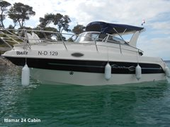 24ft ITALMAR 24 Cabin Cruiser : Sleeps 4