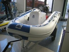 10ft MAXXON 310 RIB D/Hull + Jockey Console